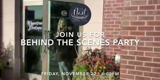 Behind the Scenes Party