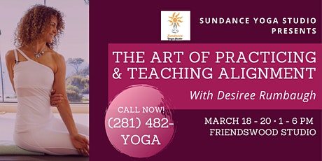The Art Of Practicing & Teaching Alignment tickets