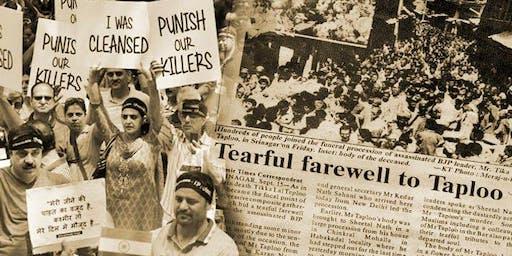 An Evening with the Kashmiri Pandits