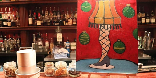 A Christmas Story Paint & Sip