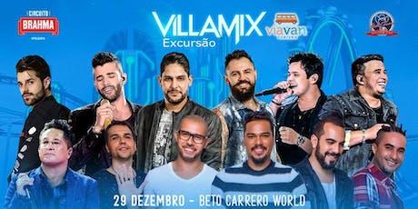 Excursão: Villa Mix Beto Carrero 2019 ingressos