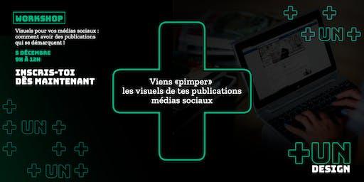 Workshop : Viens «pimper» les visuels de tes publications médias sociaux