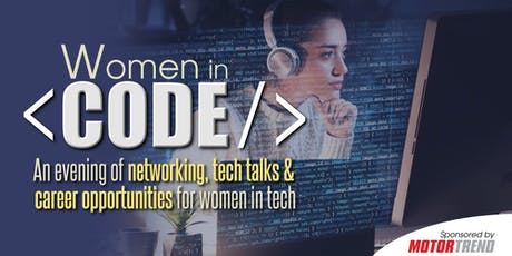 Women in Code - Presented by Women's Voices in Tech tickets