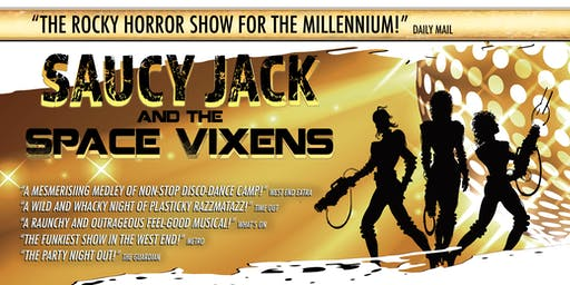 Saucy Jack and The Space Vixens Saturday Early