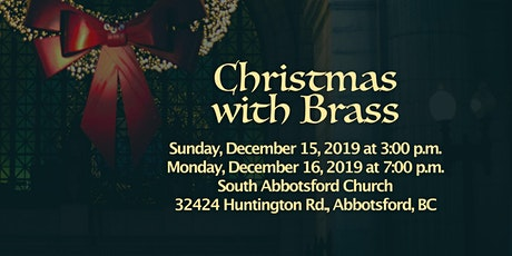Christmas with Brass tickets