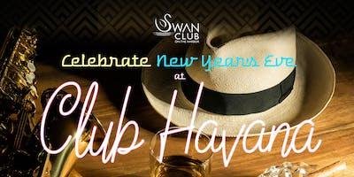 Swan Club 2020 Cuban Themed New Year's Eve Celebration