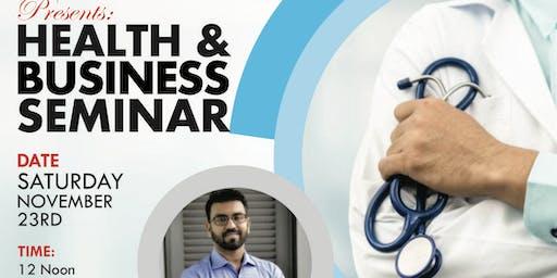 HEALTH AND BUSINESS SEMINAR