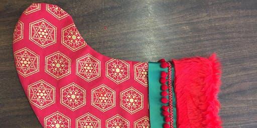 Sewing Christmas Stockings