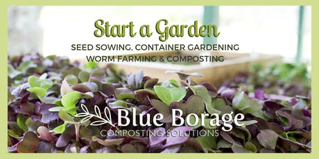 Blue Borage at the Fresh Finds Market tickets