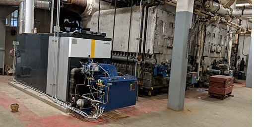 Lunch & Learn : Mineola's Leading Edge Steam to Hot Water Conversion Project