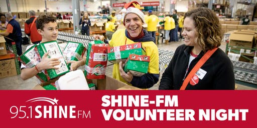 95.1 SHINE-FM Operation Christmas Child Volunteer Night