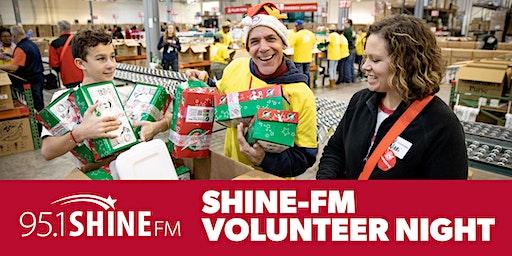95.1 SHINE-FM Operation Christmas Child Volunteer Night