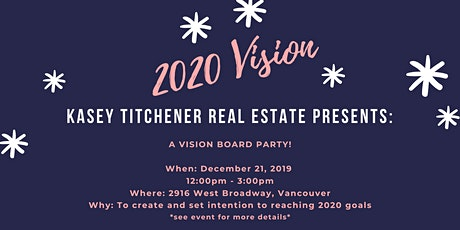 Vision Board Party at Kasey Titchener Real Estate tickets