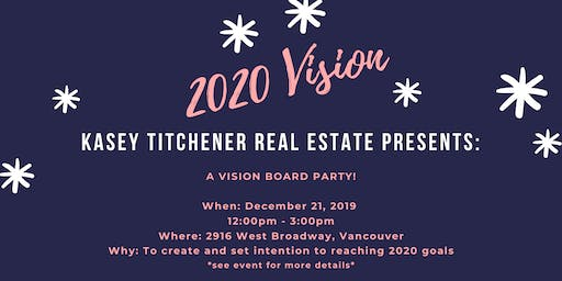 Vision Board Party at Kasey Titchener Real Estate