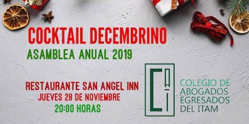 Cocktail Asamblea 2019