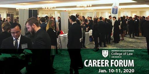 USask College of Law Career Forum 2020- Firm/Organization Registration