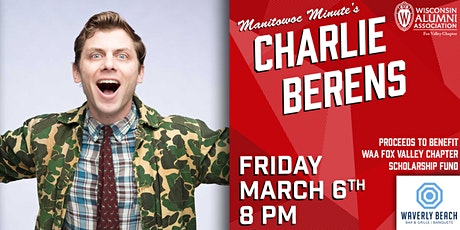 Manitowoc Minute's Charlie Berens tickets