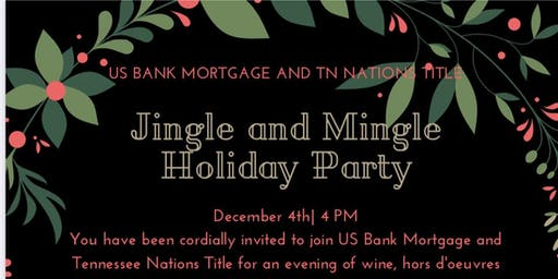 JINGLE AND MINGLE HOLIDAY PARTY