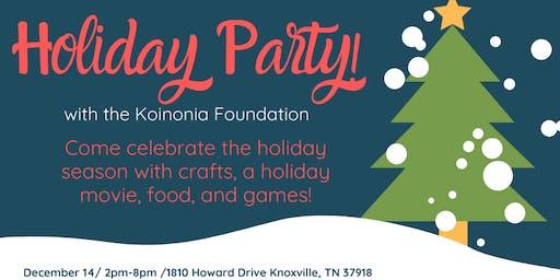 Koinonia Foundation Pajama Holiday Party