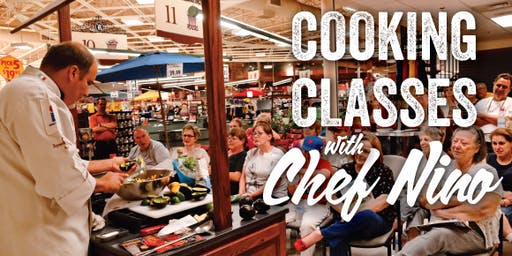 Chef Nino Cooking Demo w/ Fox10 - 1pm