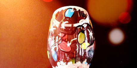 """Paint """"Christmas Lights"""" On Wine Glass-Port Moody- tickets"""