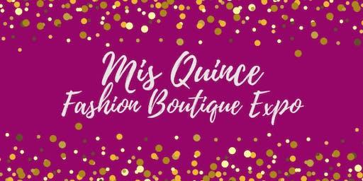 Mis Quince Fashion Boutique Expo