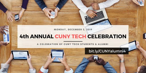 4th Annual  CUNY in Tech Celebration
