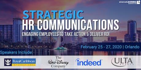 Strategic HR Communications tickets