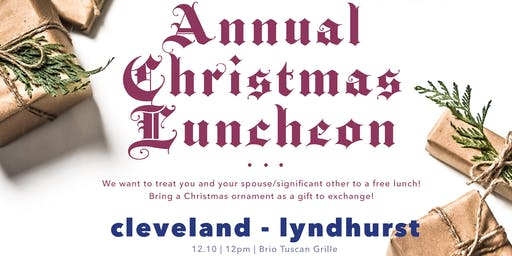 Annual Plum Tree Realty Christmas Party | Cleveland-Lyndhurst (NE OHIO)
