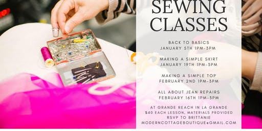 Group Sewing Class: Back to Basics