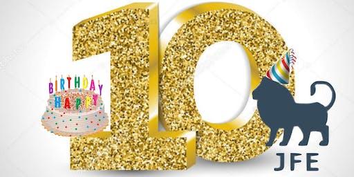 JFE 10 Year Anniversary Mixer and Celebration