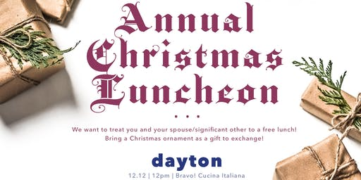 Annual Plum Tree Realty Christmas Party | Dayton