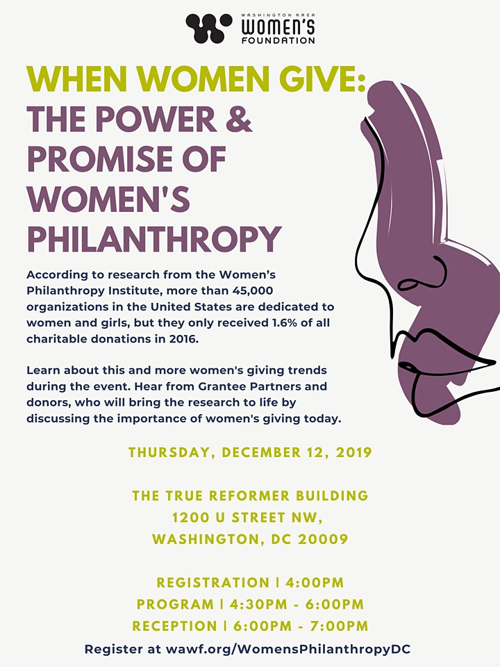 When Women Give: The Power & Promise of Women's Philanthropy image