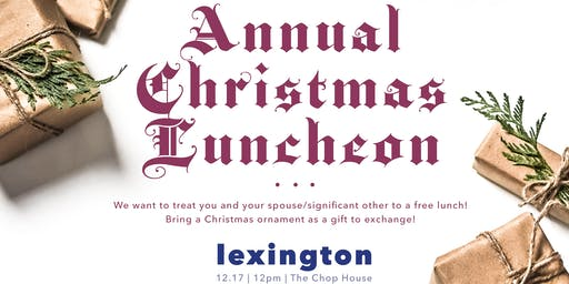 Annual Plum Tree Realty Christmas Party | Lexington