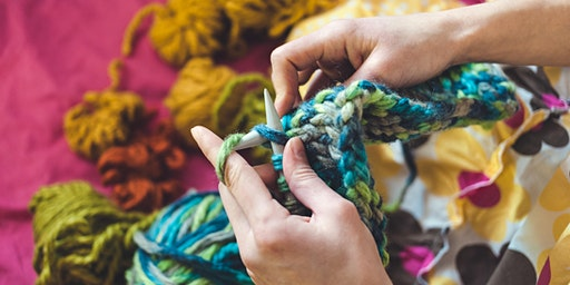 Beginner Knitting - Spring Shawl