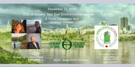 Green Drinks December - Environmental Year End Review of the City of Ottawa  tickets
