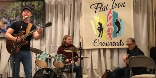 Wednesday Blues Night with Travis Colby and the Flat Iron House Band
