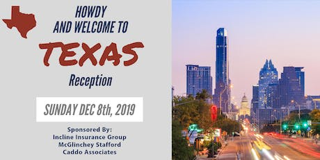Howdy and Welcome to Texas Reception! tickets