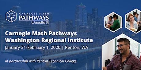 Carnegie Math Pathways Washington Regional Institute tickets