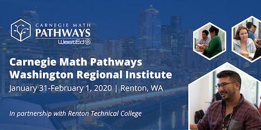 Carnegie Math Pathways Washington Regional Institute