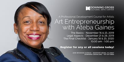 Art Entrepreneurship with Ateba Gaines