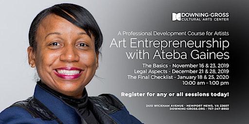 Art Entrepreneurship with Ateba Gaines