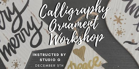 Calligraphy Ornament Workshop tickets