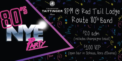 80's New Years Eve Party at Mountain Creek Resort