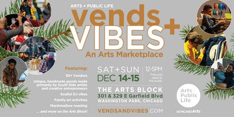 6th Annual Vends + Vibes: An Arts Marketplace tickets