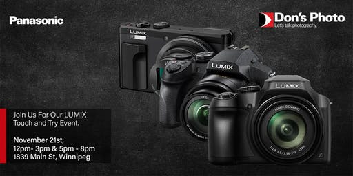 Panasonic Lumix Touch & Try Event- Evening