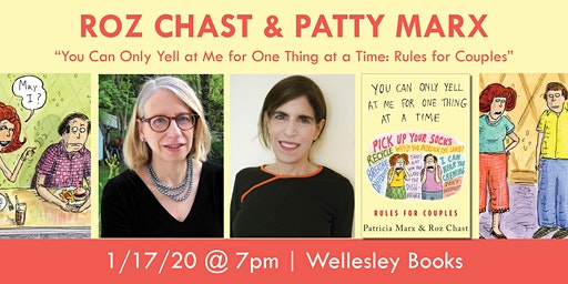 Roz Chast & Patty Marx present their new book!