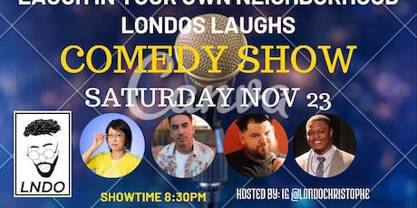 Londos Laughs: Comedy Show in Agoura Hills tickets
