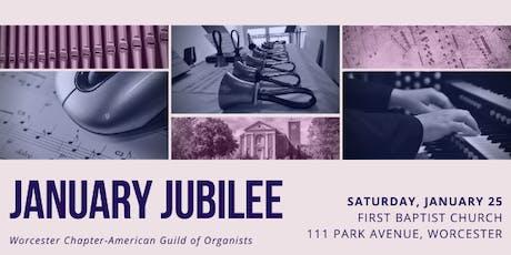 January Jubilee tickets