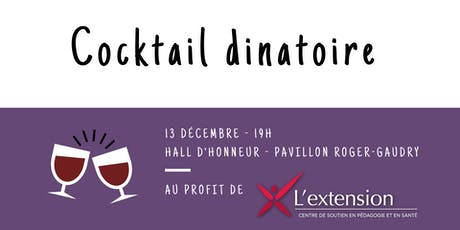 Cocktail dinatoire de l'AGÉÉÉ - 2019 billets